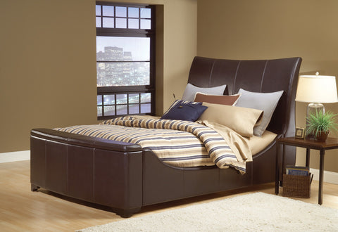 Hillsdale 1739BQRST Justin Sleigh Bed Set - Queen - w/Rails and Storage - HillsdaleSuperStore