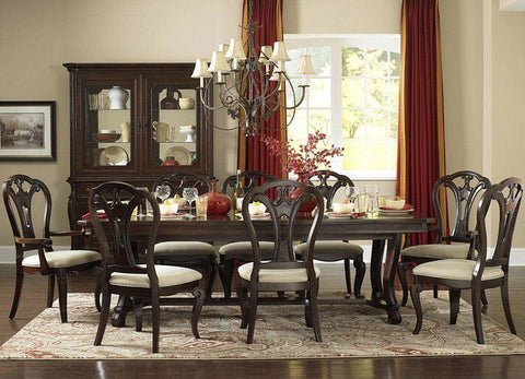 Hillsdale 4904DTBL5 Grandover Five-Piece Dining Set with Large Extension Table and Dining Chairs - HillsdaleSuperStore