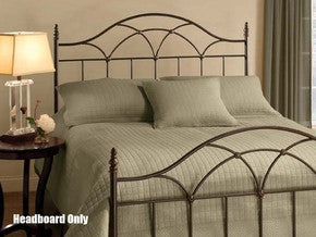 Hillsdale 1473HFQR Aria Headboard Full/Queen with Rails - HillsdaleSuperStore