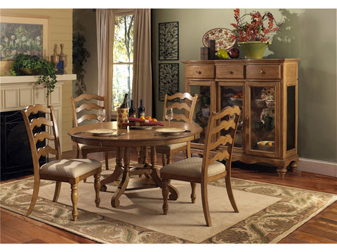Hillsdale 4608DTB Hamptons Round Table - HillsdaleSuperStore