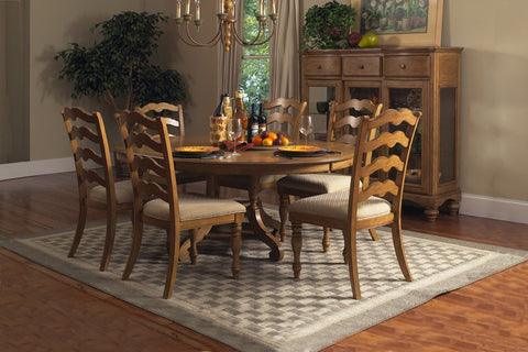 Hillsdale 4608DTBC7 Hamptons 7-Piece Dining Set - HillsdaleSuperStore
