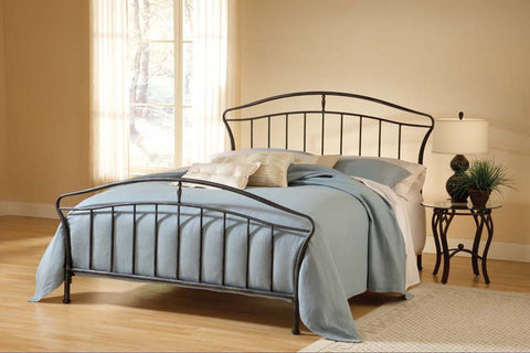 Hillsdale 1734BQR Denmark Bed Set - Queen - w/Rails - HillsdaleSuperStore