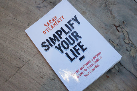 Simplify your life book