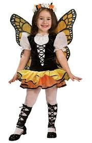 Girls Monarch Butterfly Costume - Small
