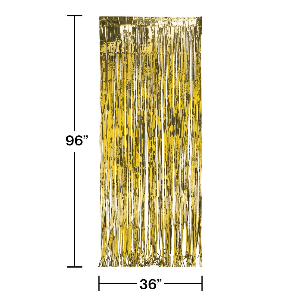 DOOR FRINGE 6/1CT GOLD FOIL [141008]