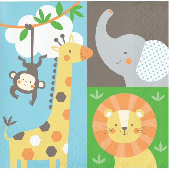BN 12/16CT 2P JUNGLE ANIMALS