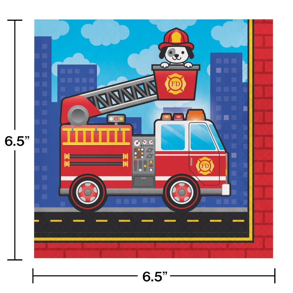 LN 12/16CT 2P FLAMING FIRE TRUCK [331502]