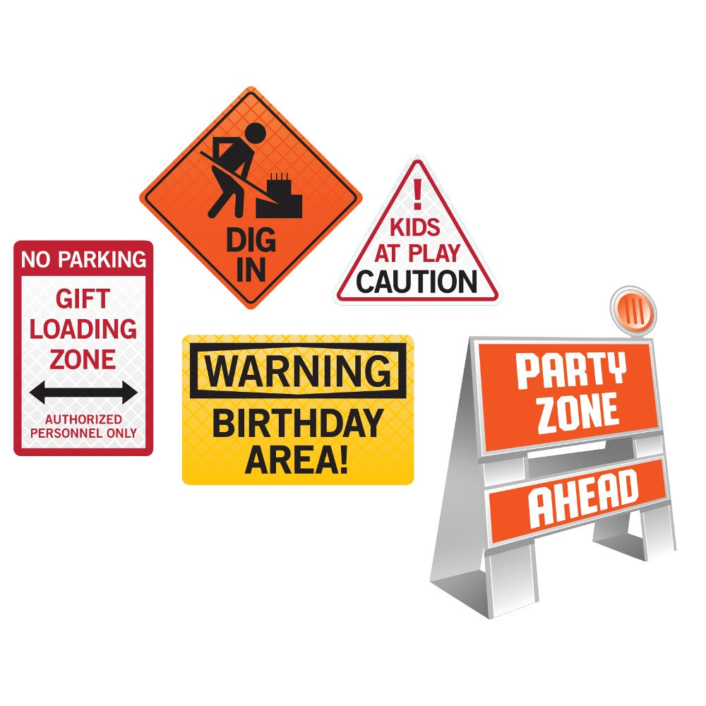 EASEL AND SIGN SET 6/5CT BIG DIG CONSTRUCTION
