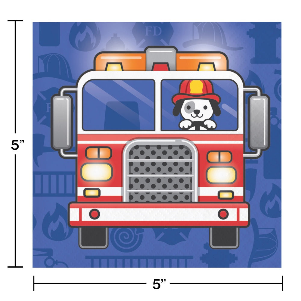 BN 12/16CT 2P FLAMING FIRE TRUCK [331500]