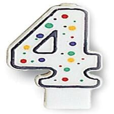CAN 6/1CT POLKA DOTS NUMERAL 4