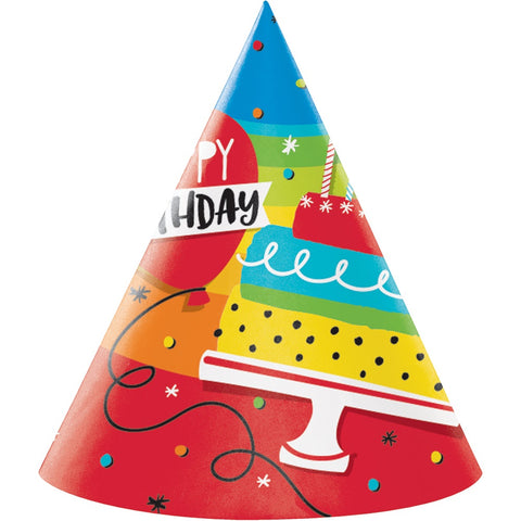 HAT ADULT 6/8CT HOPPIN' BIRTHDAY CAKE