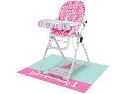 HIGH CHAIR KIT 6/1CT 1ST BDAY BUNNY