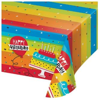 TC PL AOP 6/1CT 54X102 HOPPIN' BIRTHDAY CAKE