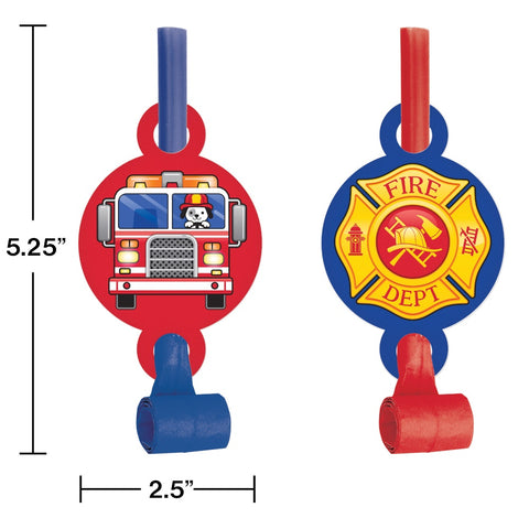 BO W/MED 6/8CT FLAMING FIRE TRUCK [332207]