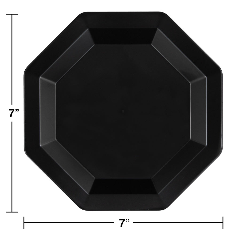 PLT10.25 PL OCT 6/8CT BLACK