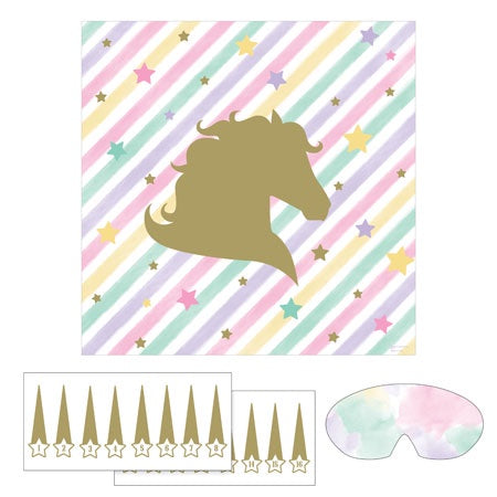 PIN HORN GAME 6/1CT UNICORN SPARKLE