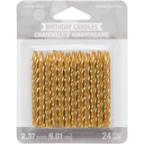 CAN 12/24CT SPIRAL GOLD