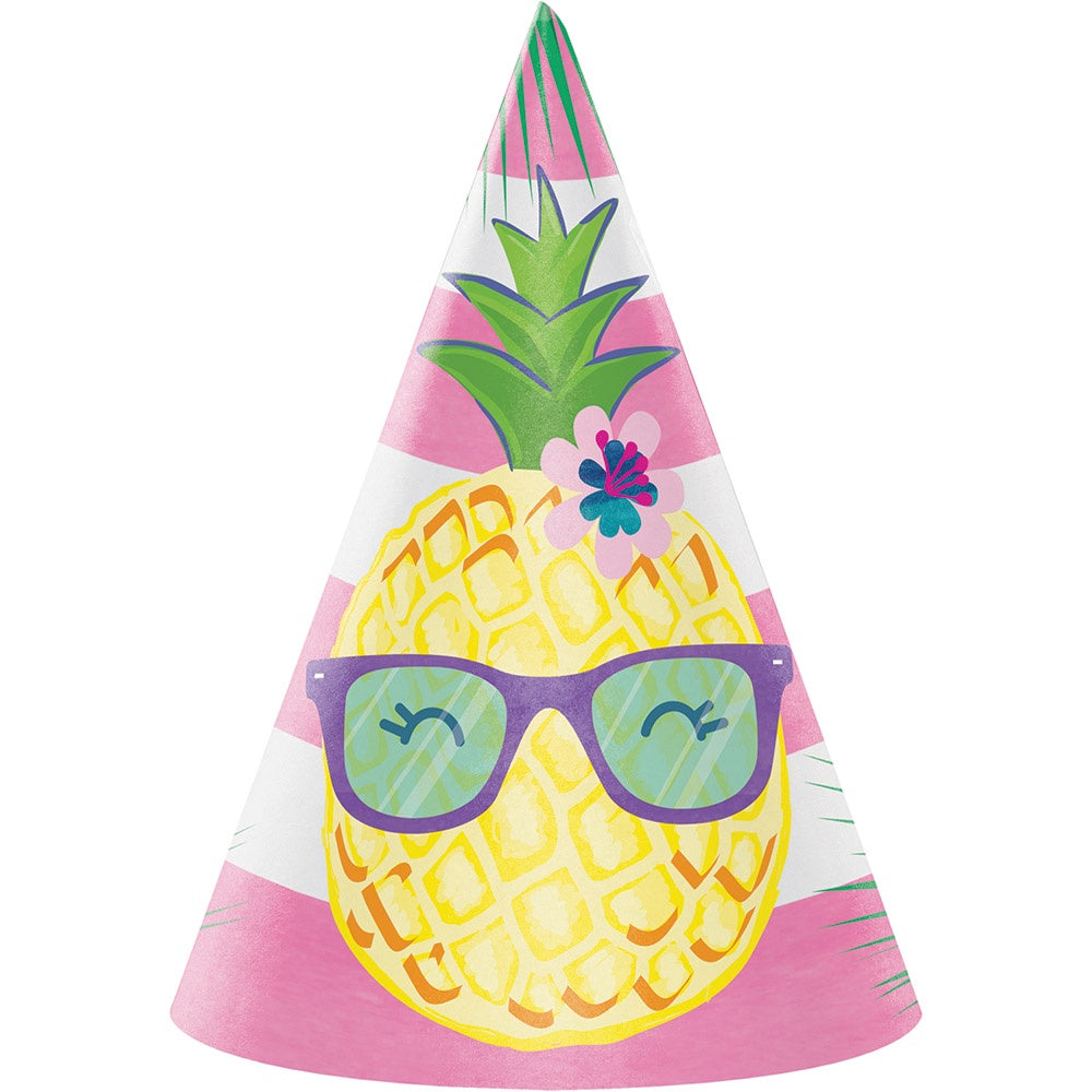 HAT CHILD 6/8CT PINEAPPLE N FRIENDS