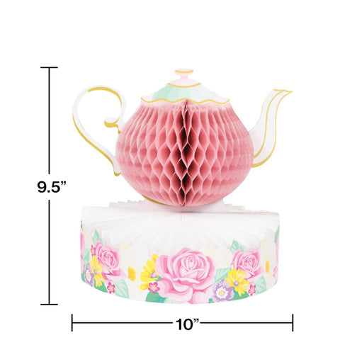 CP HC 3D 6/1CT FLORAL TEA PARTY