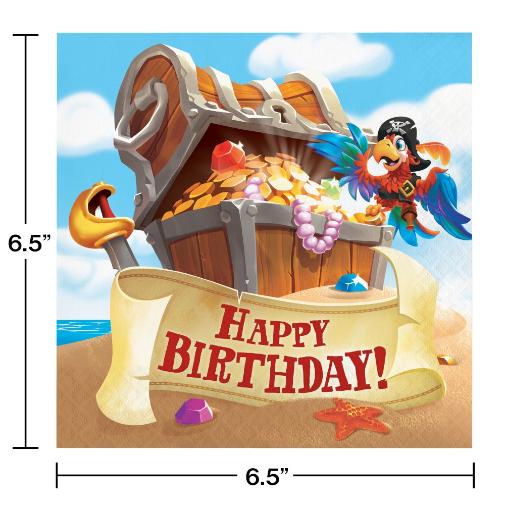 LN 12/16CT 2P PIRATE TREASURE HBD
