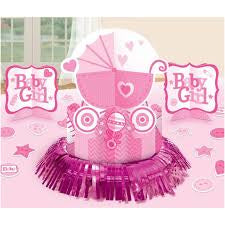 Baby Girl Table Decorating Kit