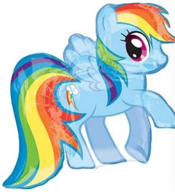 My Little Pony Rainbow Dash Supershape