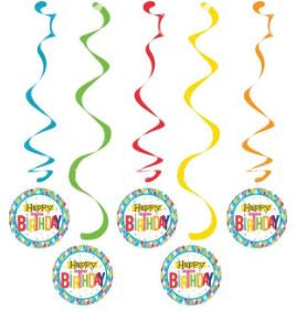 Dizzy Danglers Dng Dzy 6/5Ct Bright Birthday