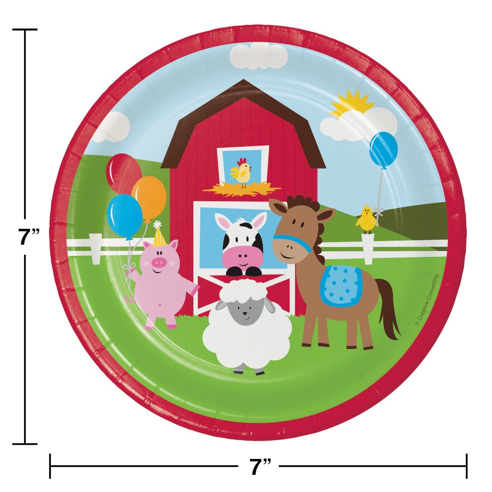 PLT7 SS 12/8CT FARMHOUSE FUN