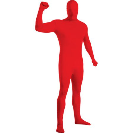 Red 2Nd Skin Suit [ 880508-L ]