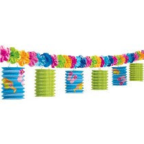 Fun In The Sun Lantern Garland 10Ft