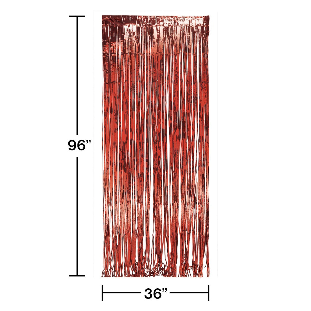 DOOR FRINGE 6/1CT RED FOIL [141005]