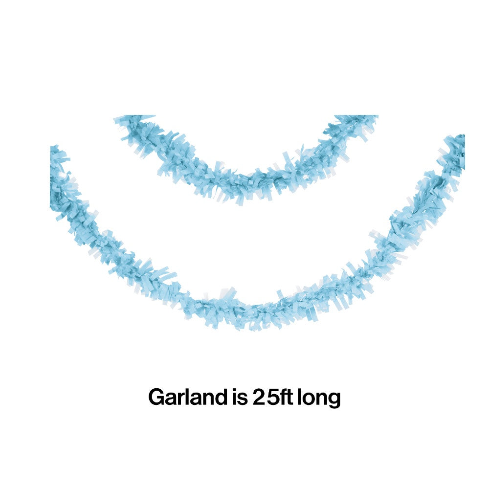 GAR TISS 12/1CT 25' PST BLUE [315310]