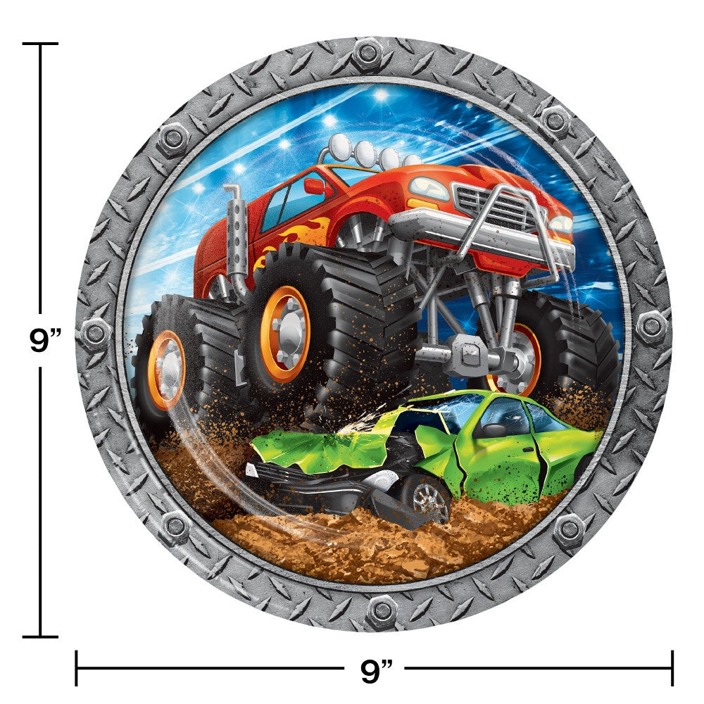 PLT9 SS 12/8CT MONSTER TRUCK RALLY