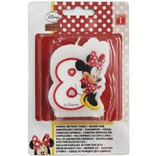 Minnie Numeral Candle No. 8