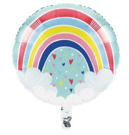 "Metallic Balloon 18"" Bln Met 10/1Ct 18"" Over The Rainbow"