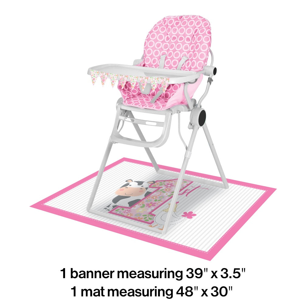 High Chair Kit High Chair Kit 6/1Ct Frmhse 1St Girl