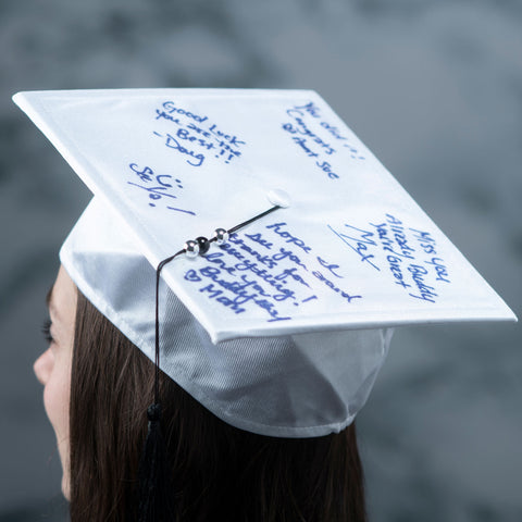 Autograph Graduation Hat With Pen 7 X 7In