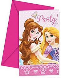 Princess Glamour Invitation