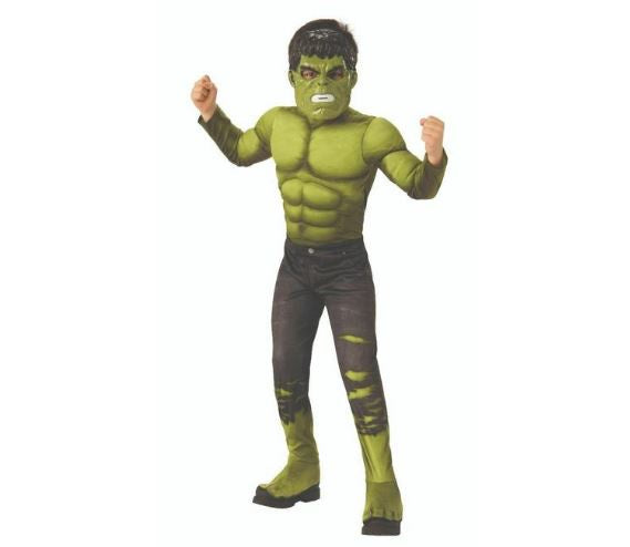 Av4 Hulk Dlx Child Costume 201 [ 700669-L ]