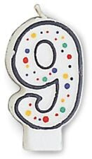 CAN 6/1CT POLKA DOTS NUMERAL 9