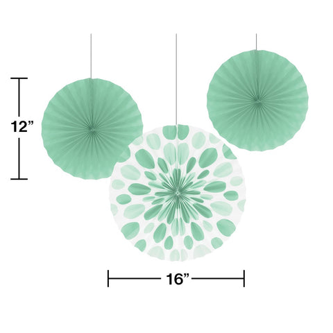"FAN PR 6/3 12""&16"" FRESH MINT [324504]"