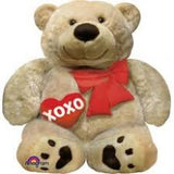 P35 CUDDLY BEAR LOVE FOIL BALLOON 27 X 28IN