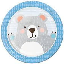 PLT7 SS 12/8CT 1ST BIRTHDAY BEAR [336058]