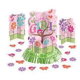 Tweet Baby Girl Table Decorating Kit, 2