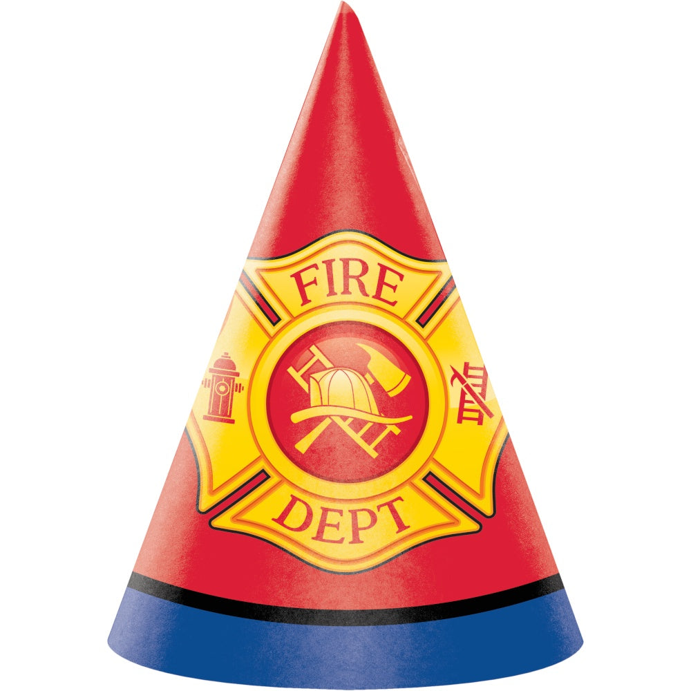 HAT CHILD 6/8CT FLAMING FIRE TRUCK [332205]