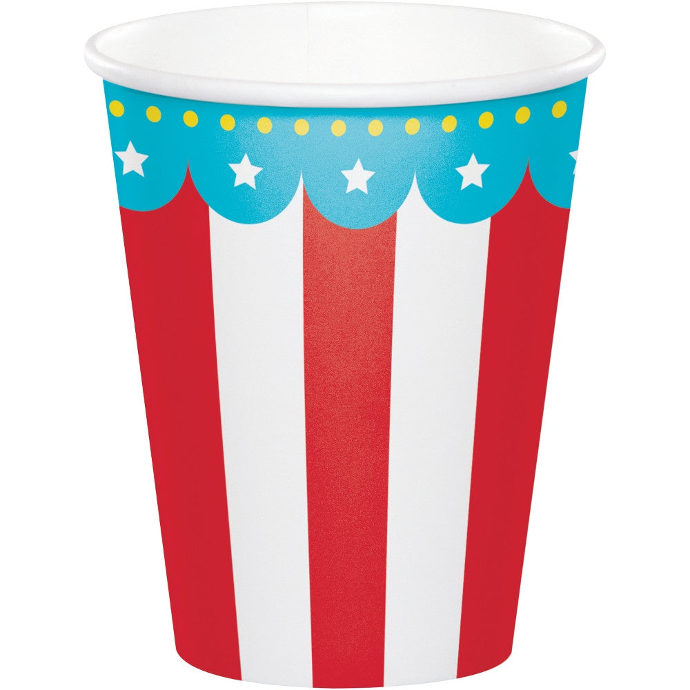 9CUP 12/8CT CIRCUS PARTY