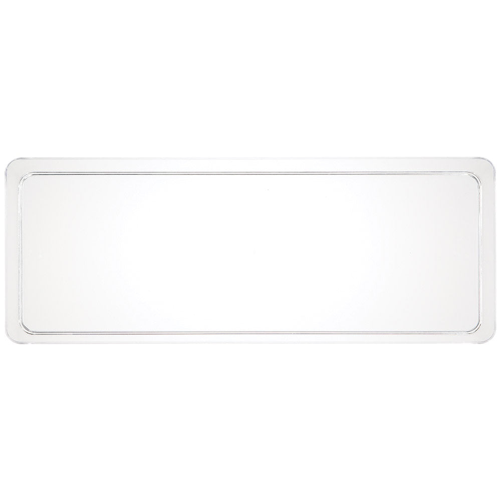 "TRAY PL 6/1CT 6""X15.5"" CLEAR [179432]"