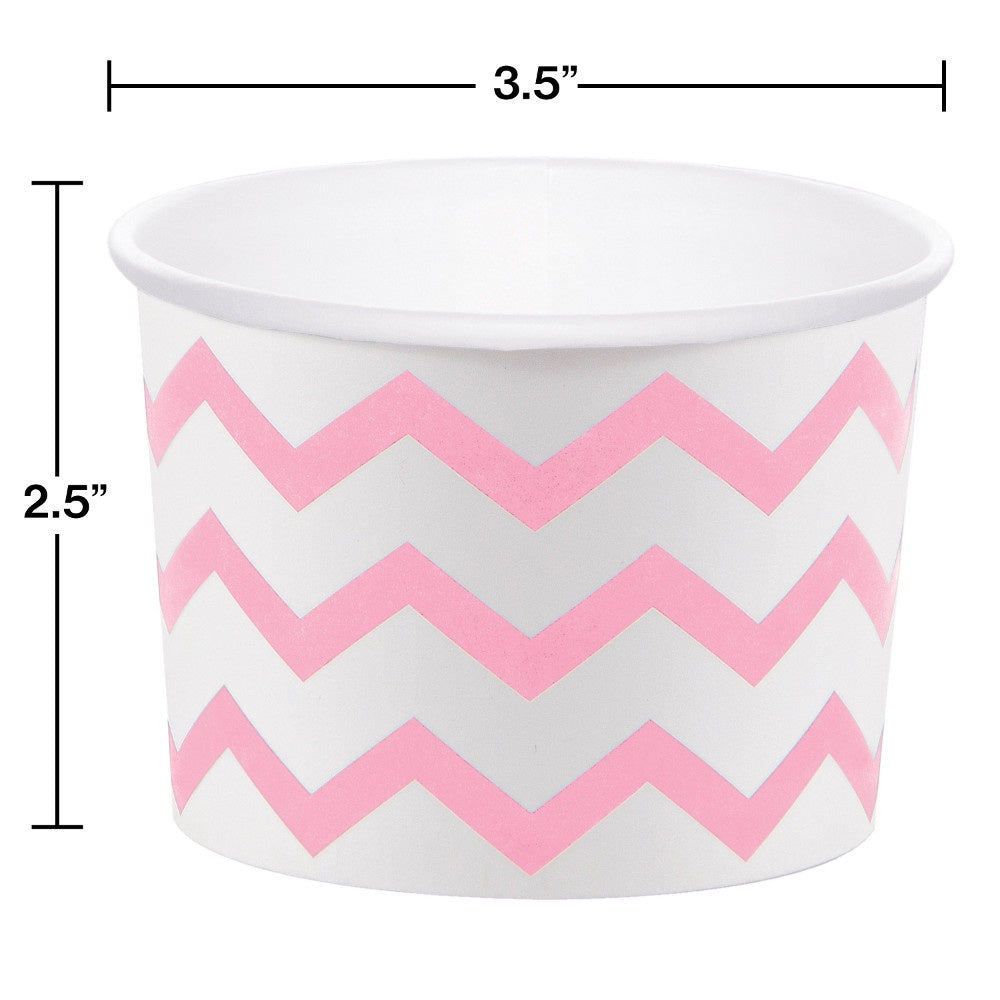 CUP TREAT 12/6CT CHEVRON CL PN [051337]