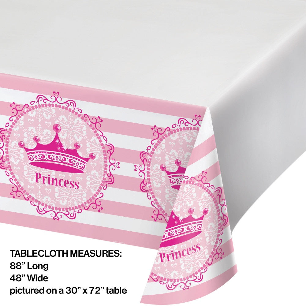 Pink Princess royalty table cover