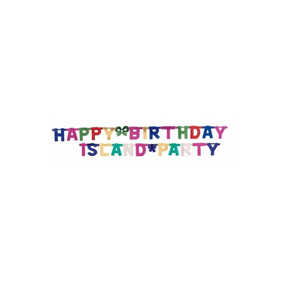 Jointed Banner, Lg Hpy Bday, Multi Bnr Jnt 12/1Ct Lg Happy Bday